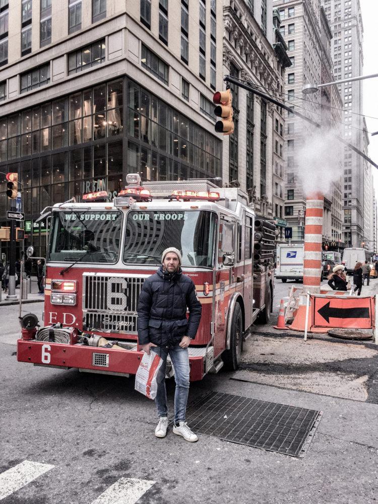 Les mythiques camions des pompiers de Manhattan