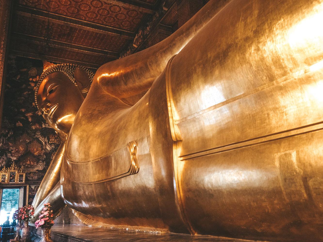 Le Bouddha couché du temple Wat Pho