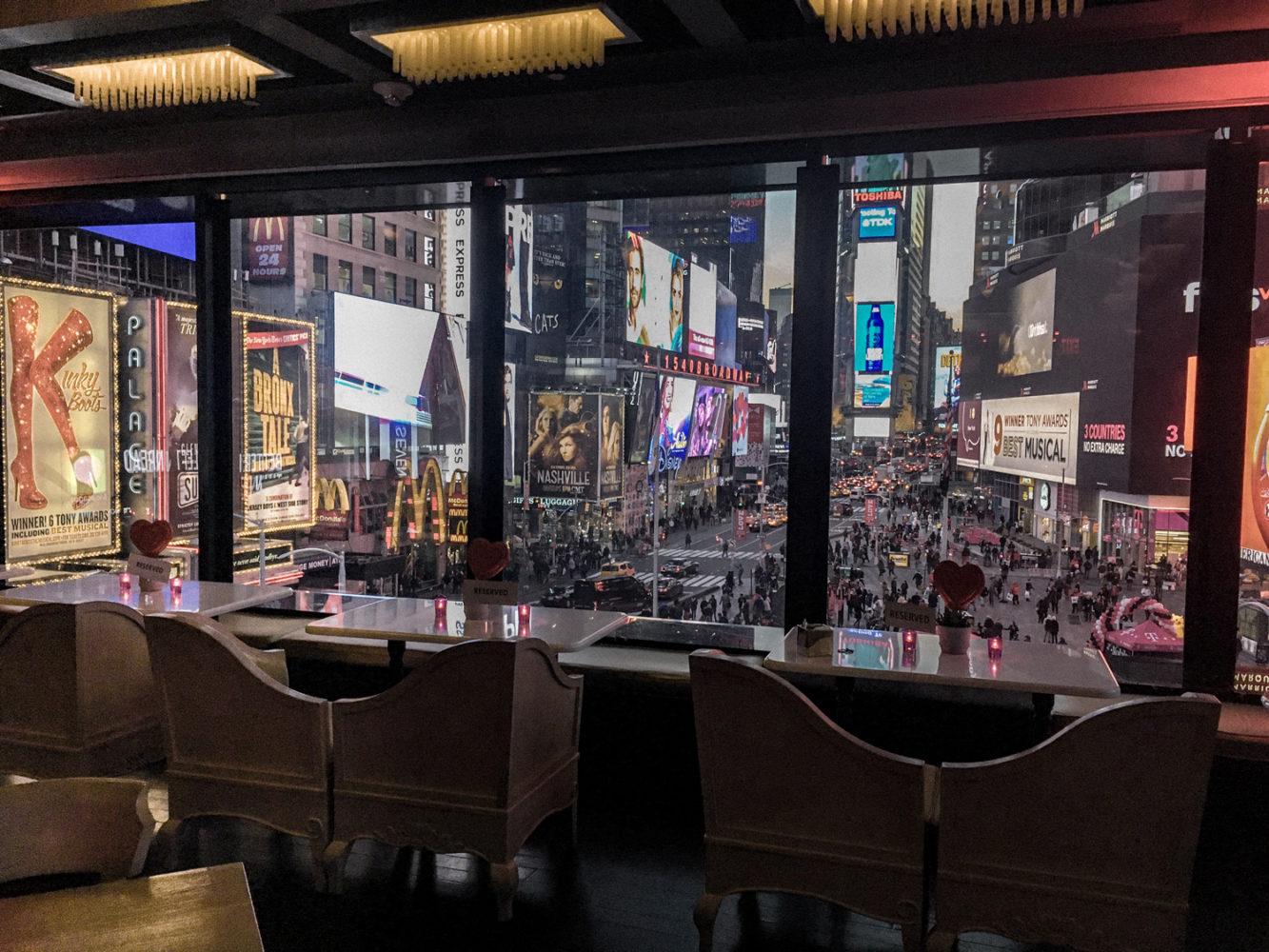 Bar R Lounge du Renaissance Times Square Hotel