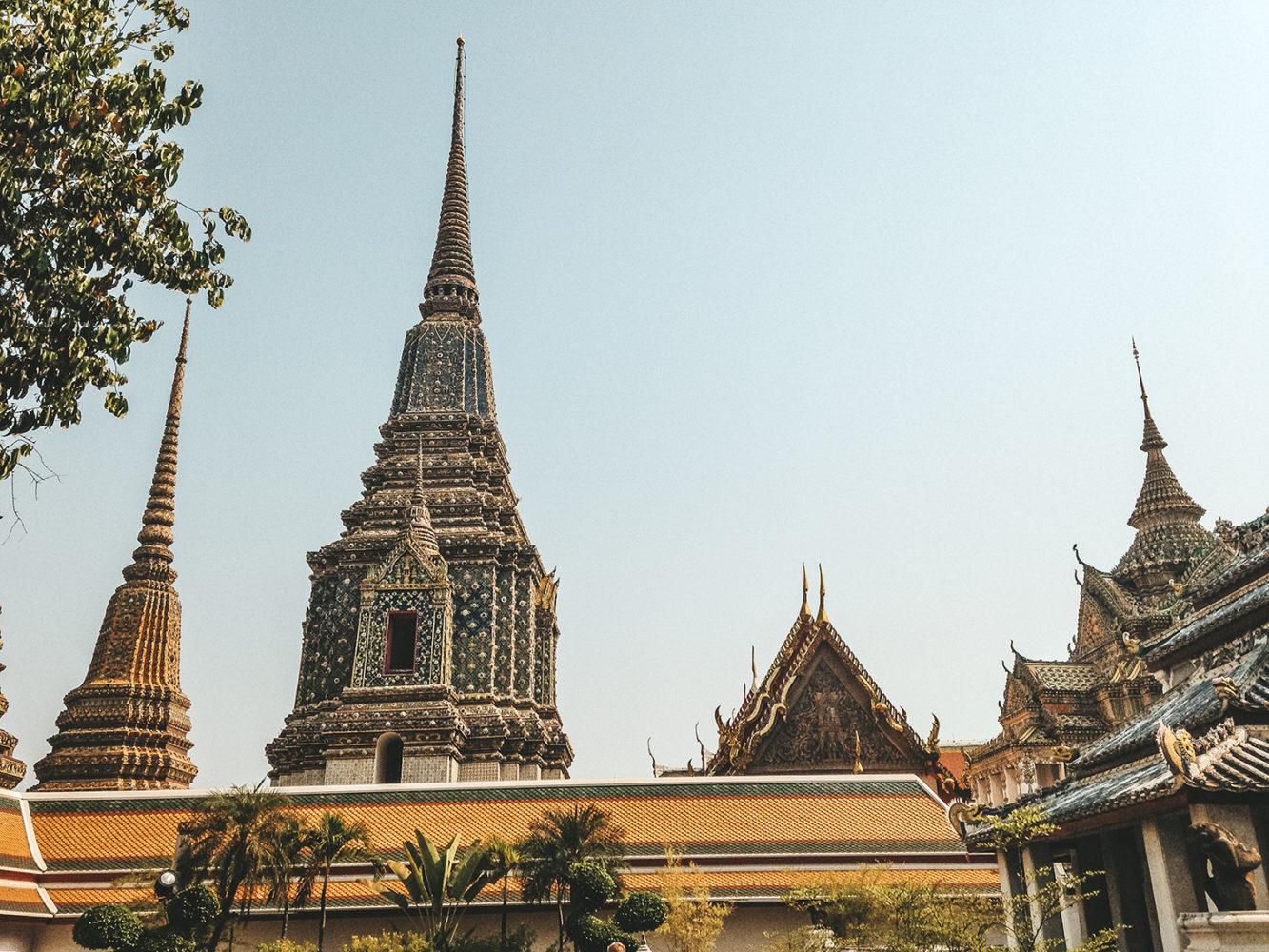 Vue d'ensemble du Wat Pho