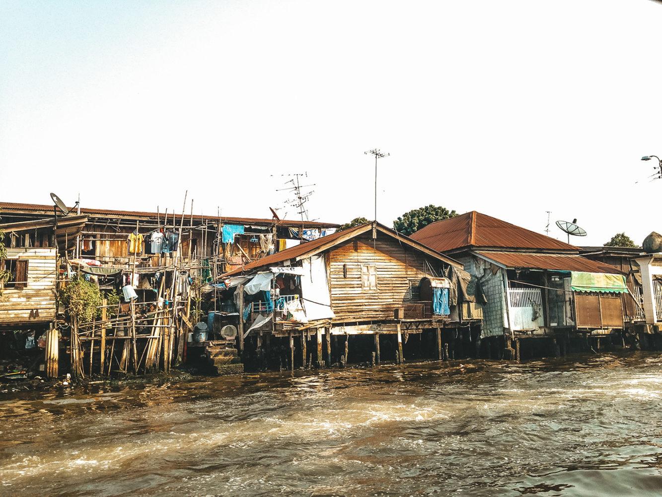 Balade sur les célèbres klongs de Bangkok