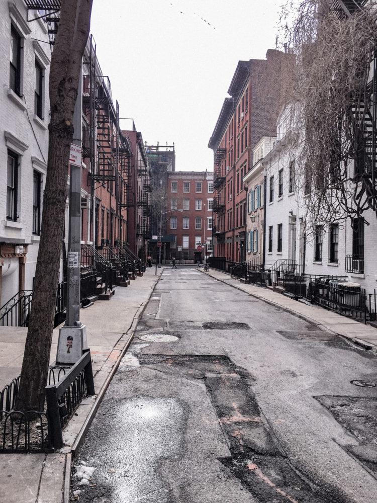 Jolie petite ruelle de West Village