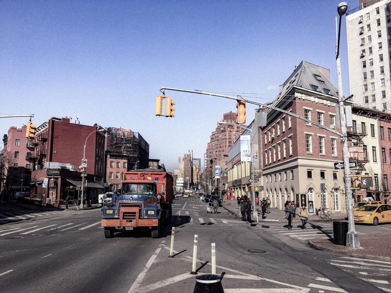 Avenue principale du quartier