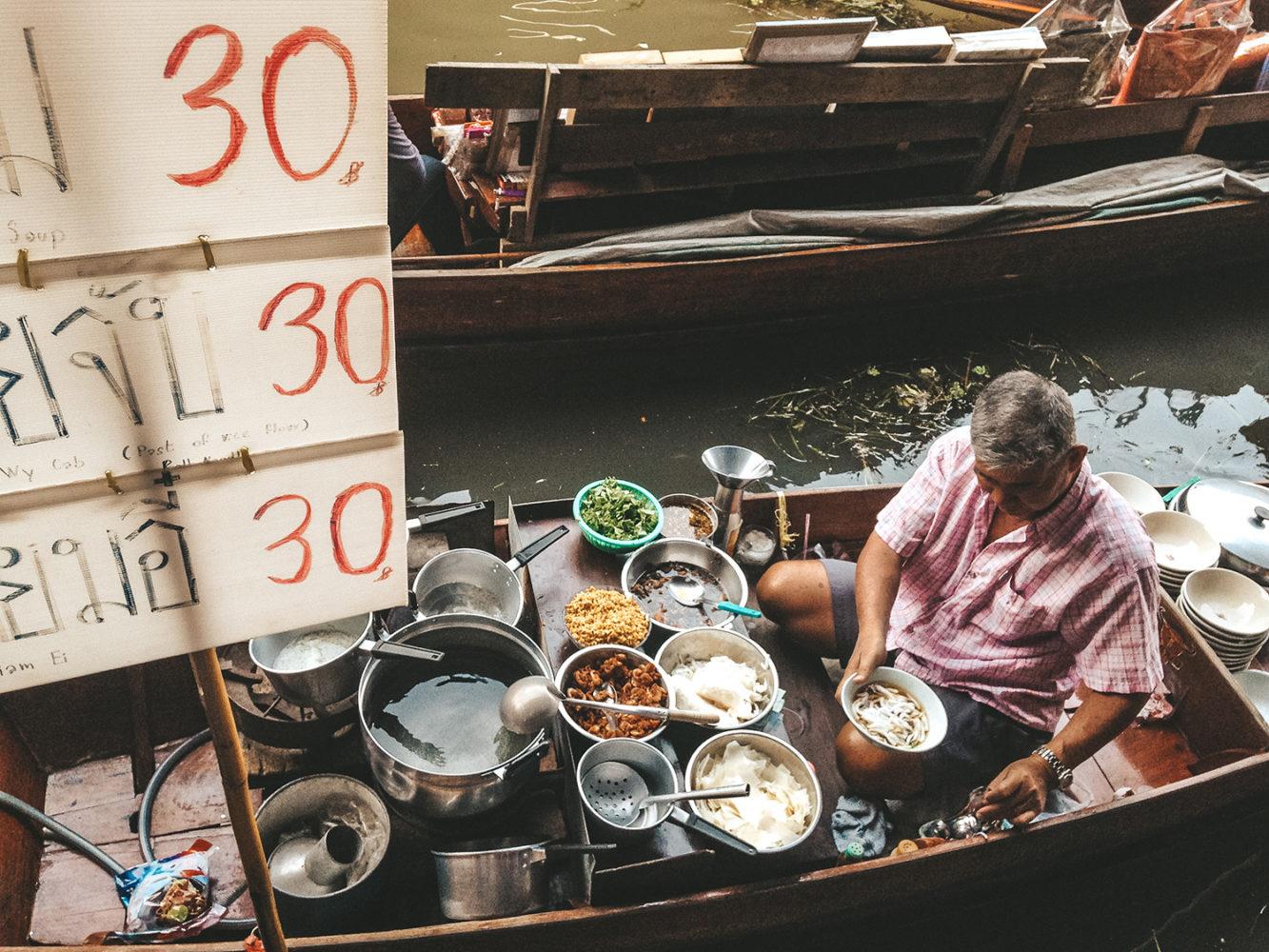 Vendeur de soupe