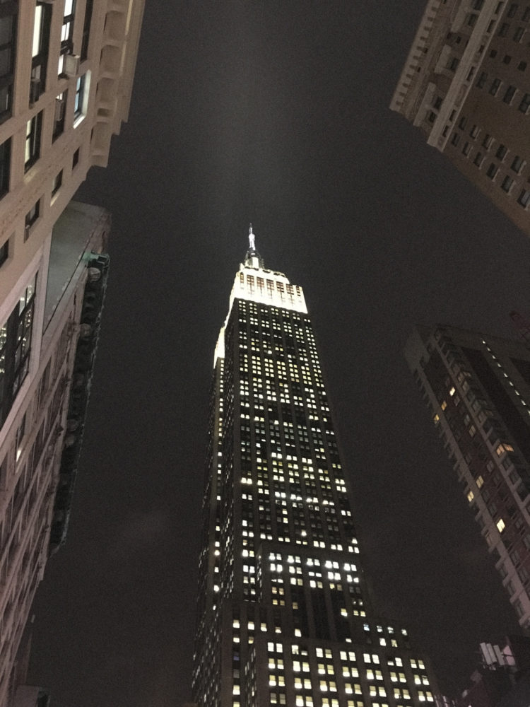L'Empire State Building de nuit