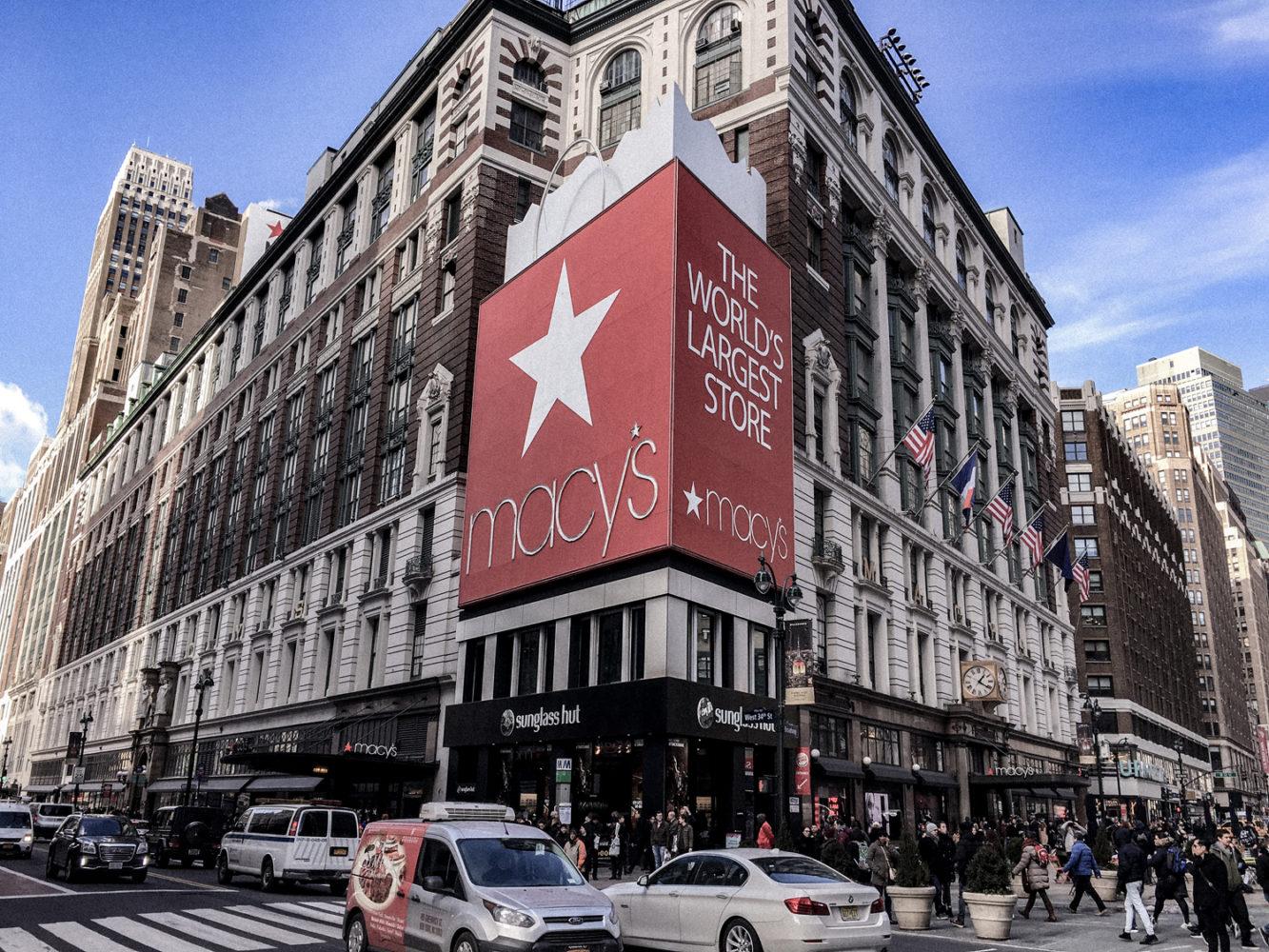 Macy's, l'un des plus grands magasins des États-Unis