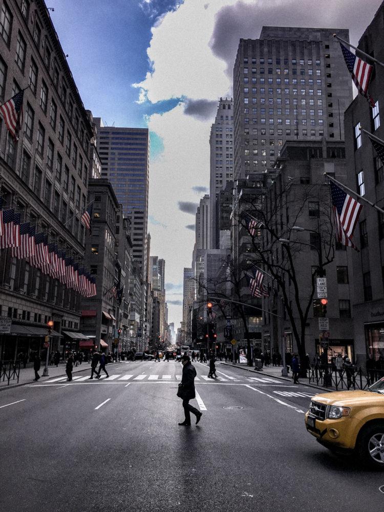 Une grande avenue de Midtown