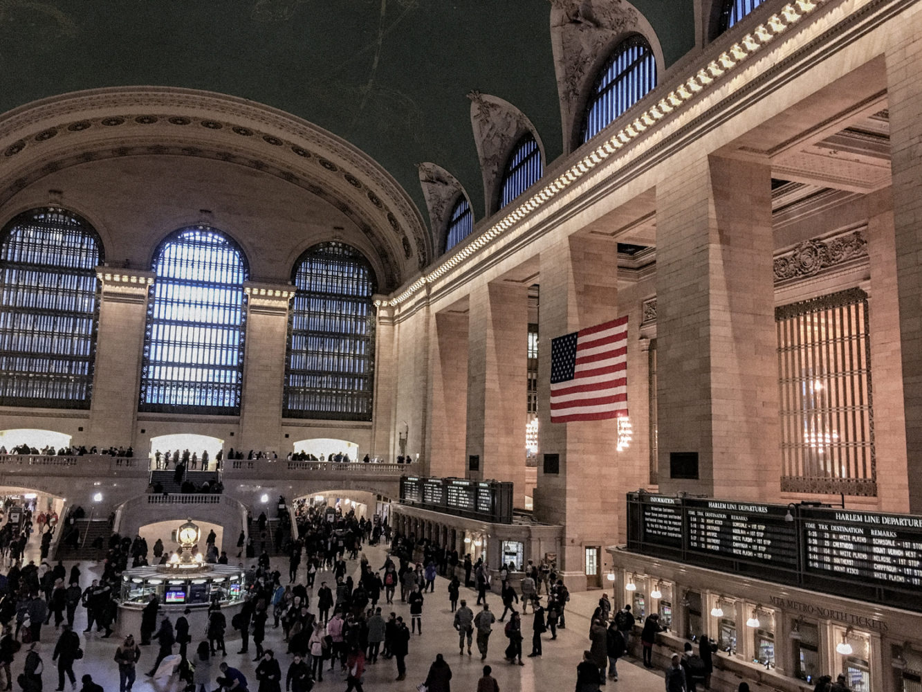 Grand Central Station, la plus ancienne gare de New York