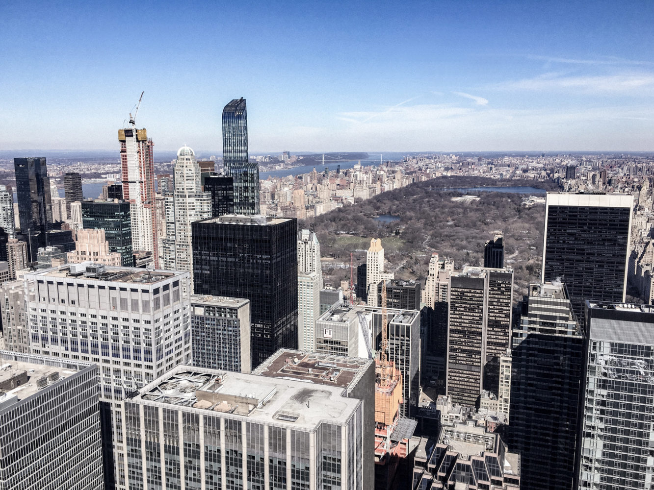 Vue imprenable sur Central Park