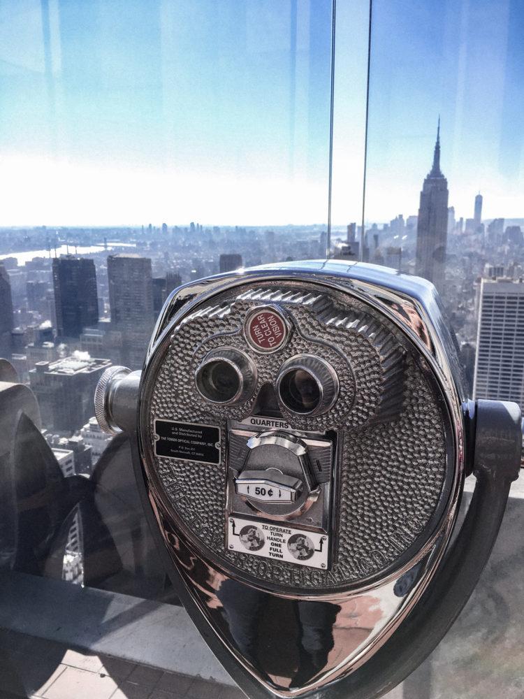 Les jumelles panoramiques du site