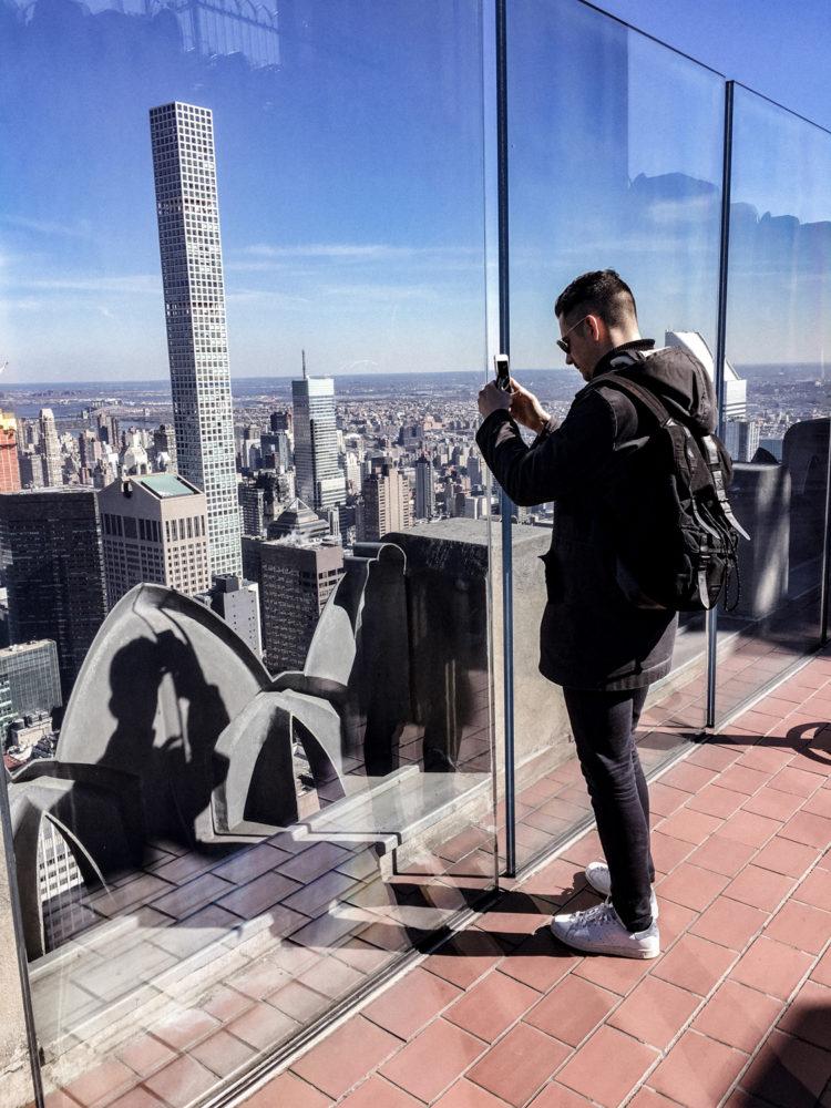 Nicolas mitraille à 360° le panorama