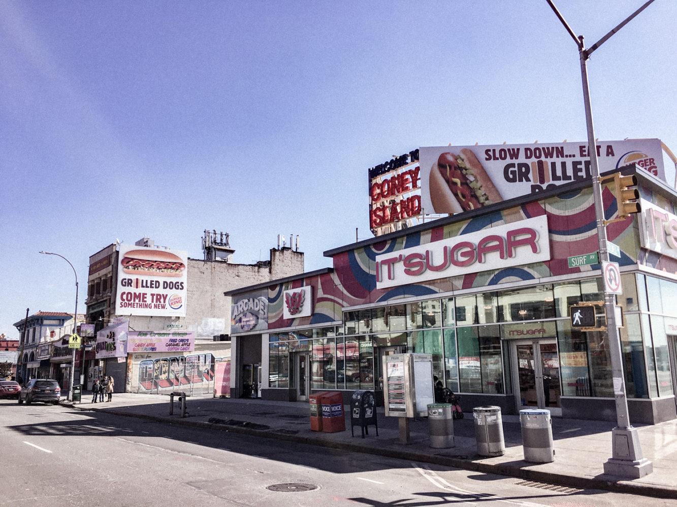 Rue principale de Coney Island