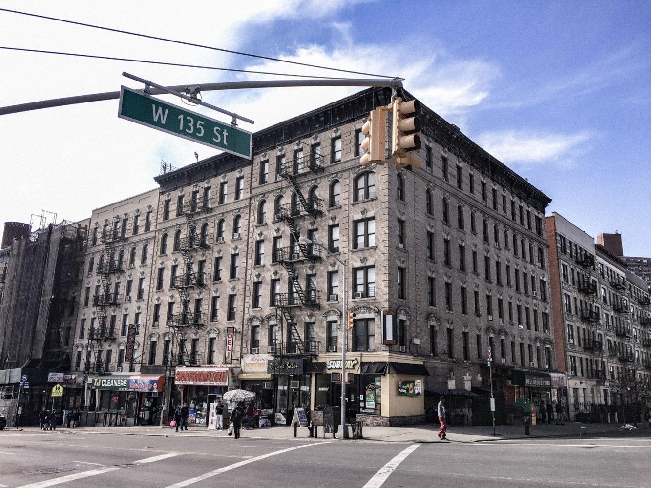 En plein coeur d'Harlem