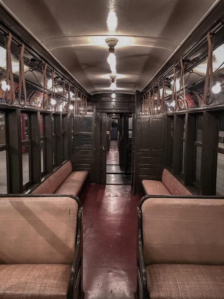 Ancien wagon de métro