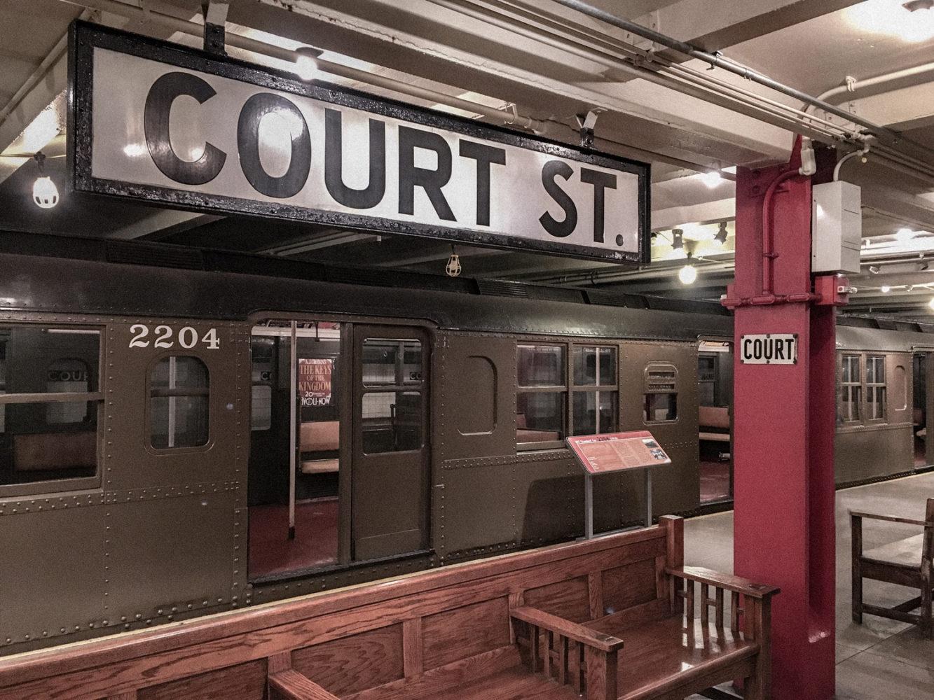 Station désaffectée de Brooklyn