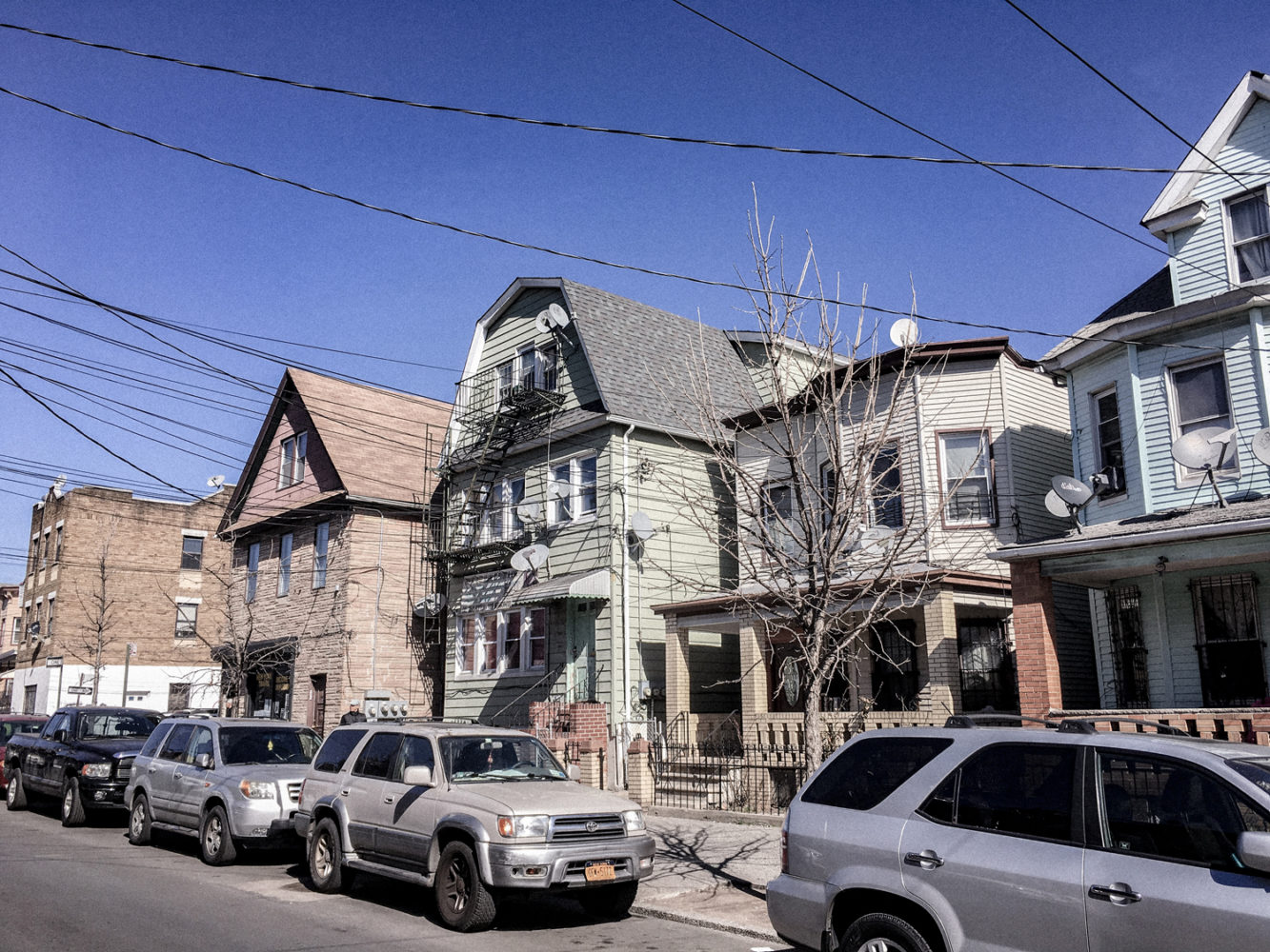 Les jolies petites maisons du Queens