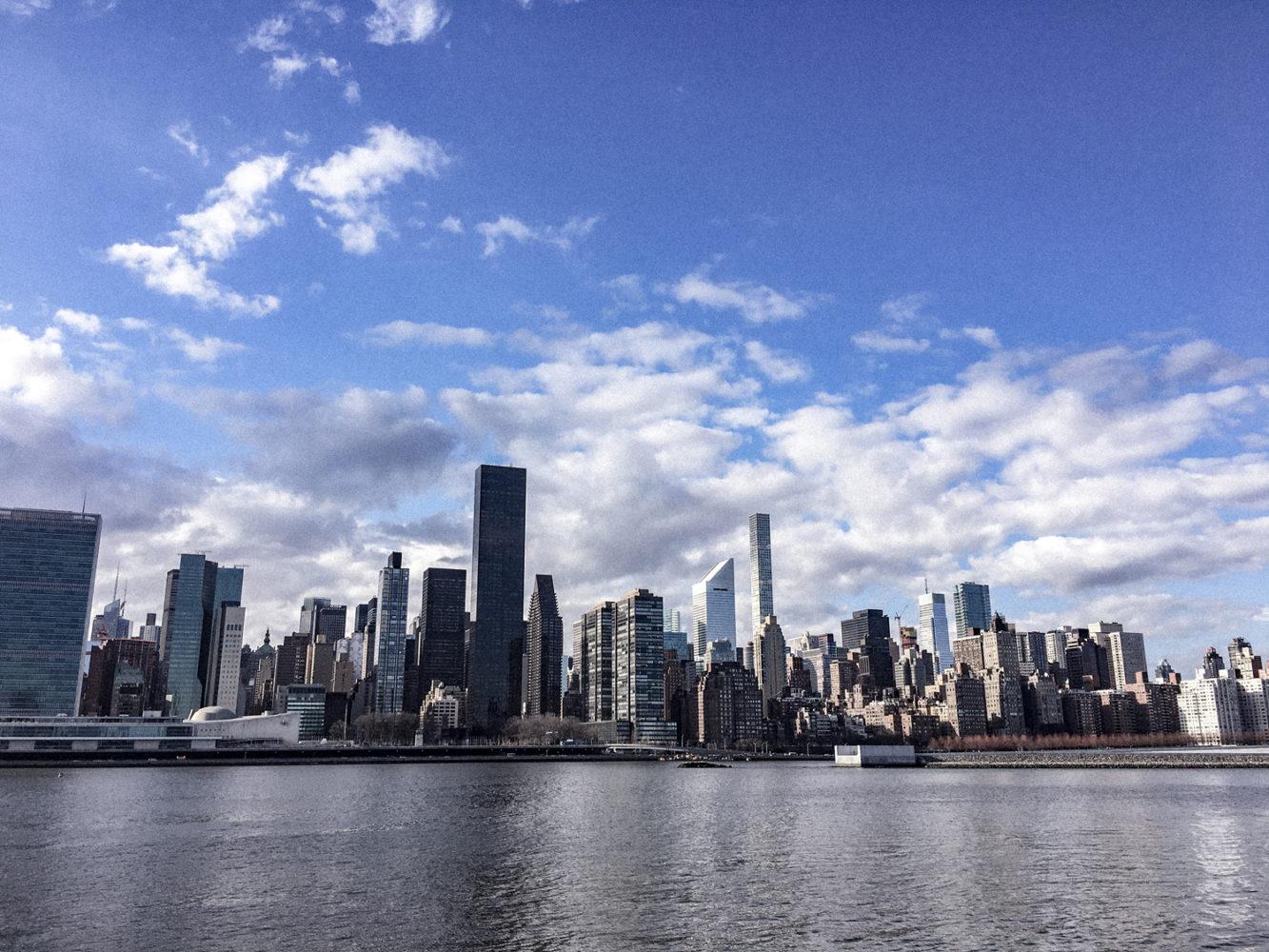 Vue sur les buildings de Manhattan