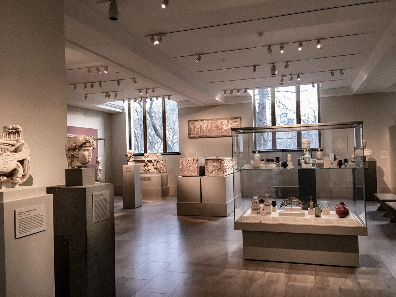 Une des nombreuses salles du musée