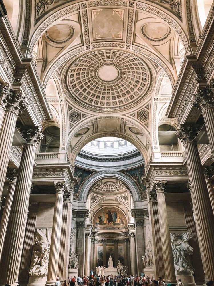 L'entrée du Panthéon