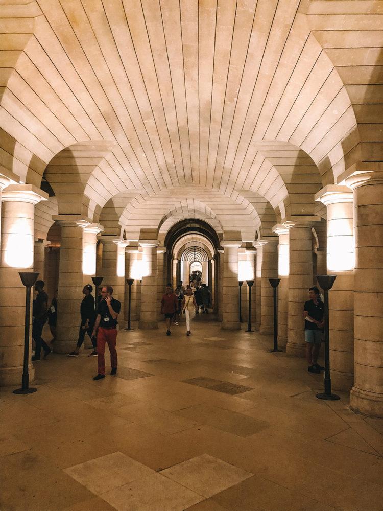 La crypte du Panthéon