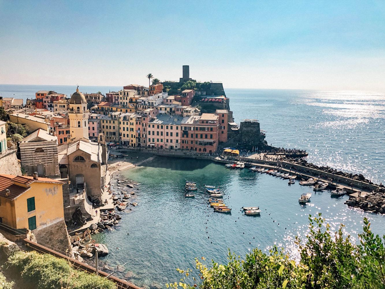 Sublime panorama du village de Vernazza