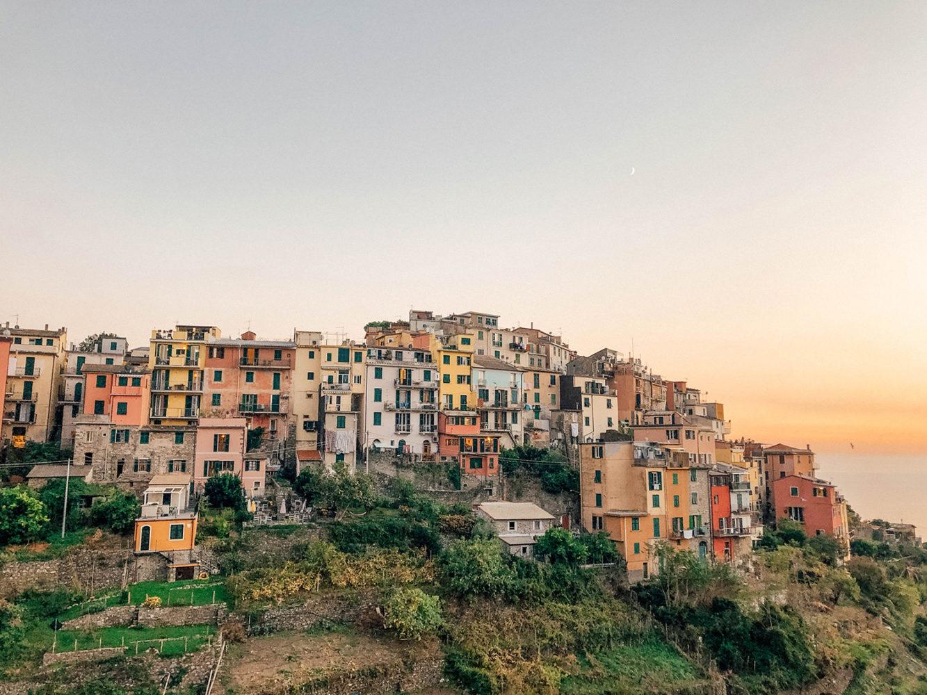 Le sublime village de Corniglia