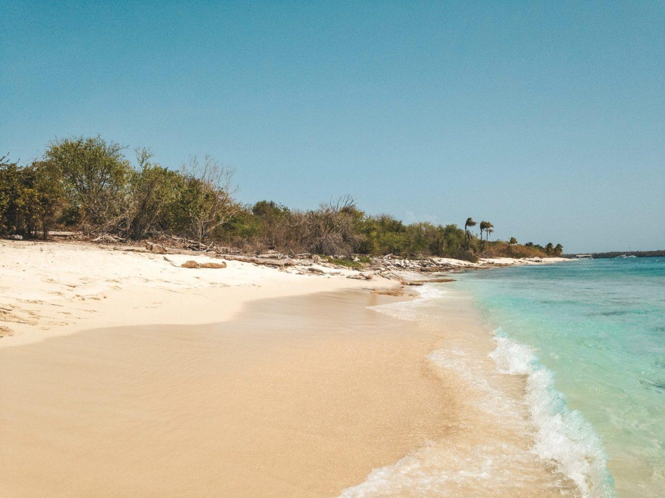 Du sable fin sur des kilomètres et une eau turquoise