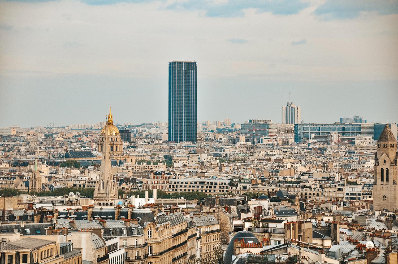 Vue sur la Tour Montparnasse