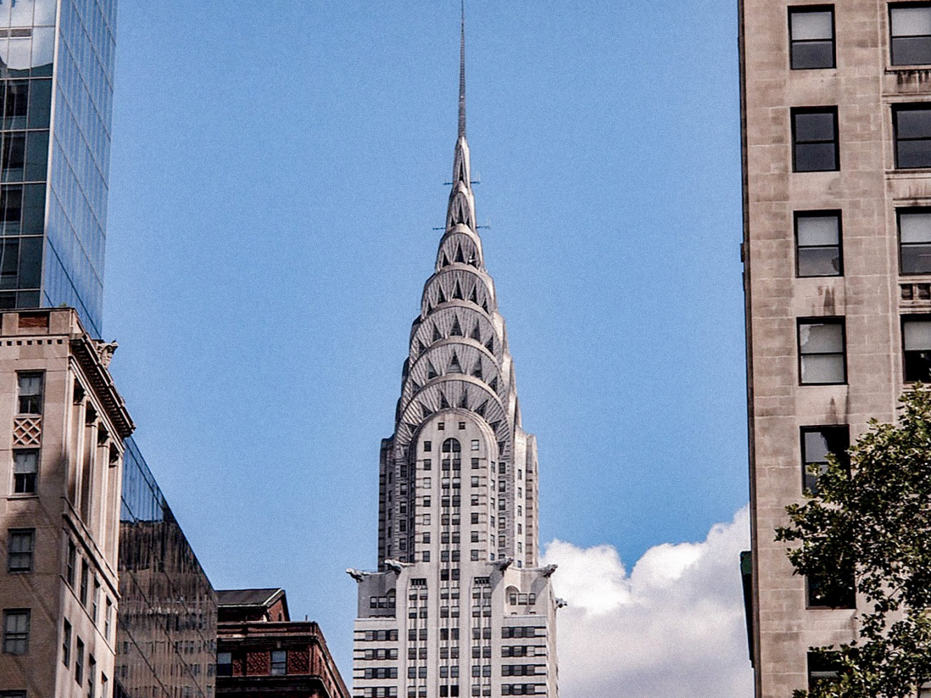 Vue sur le Chrysler Building