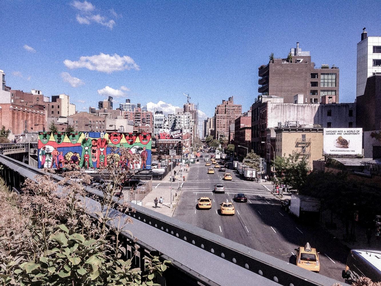 """Vue sur Chelsea depuis la """"High Line"""""""