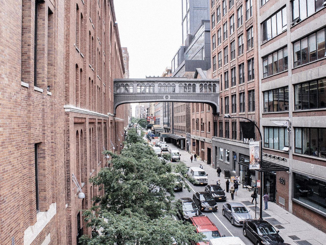 Balade à Chelsea dans une rue pleine de galeries d'art