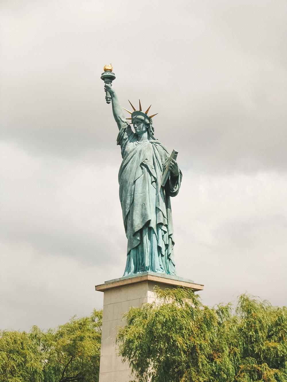 La Statue de la Liberté du Pont de Grenelle