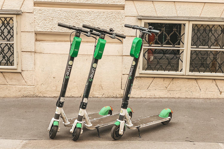 Trottinettes électriques Lime