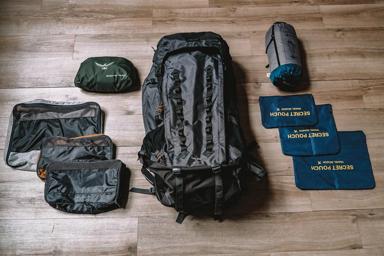 Notre sac à dos principal et ses rangements