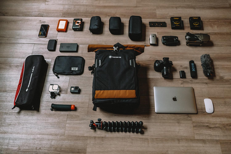 Notre équipement multimédia pour 2 ans de tour du monde