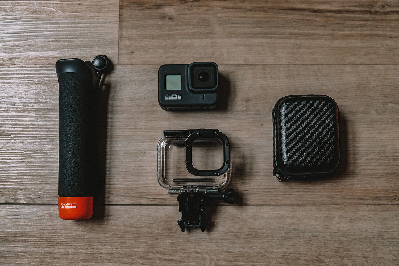 Notre caméra GoPro et ses accessoires