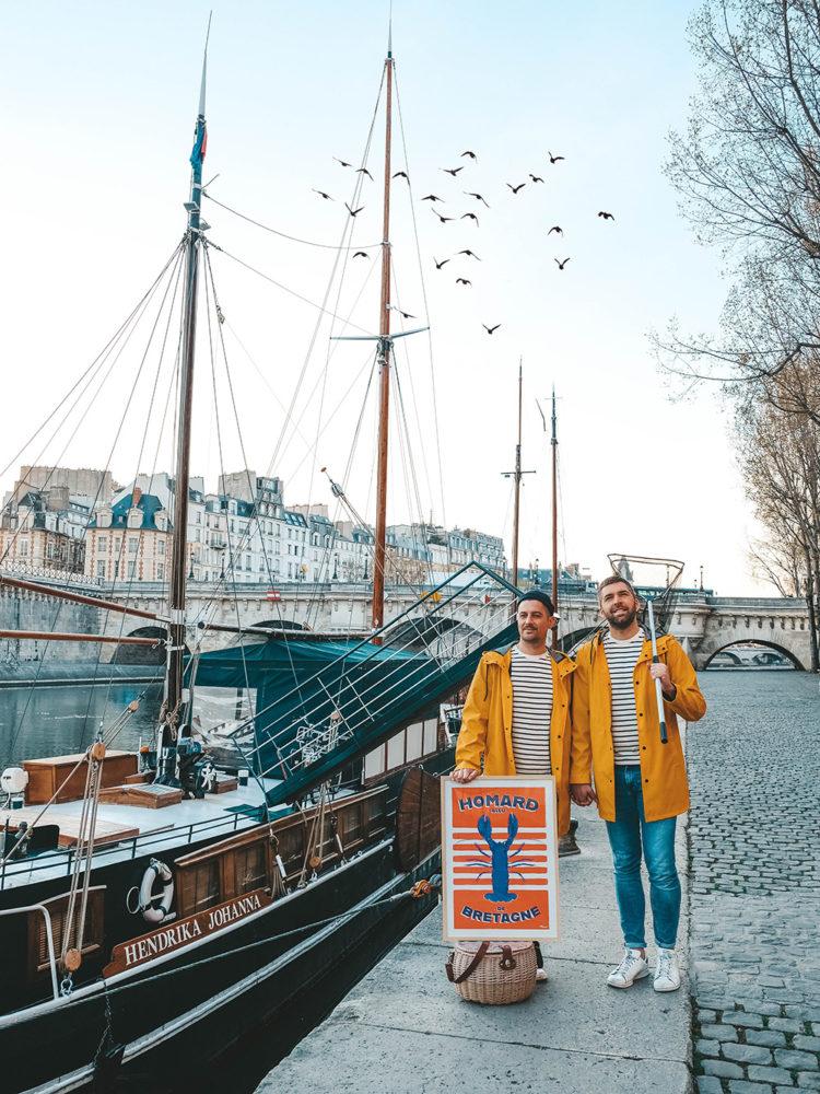 On a pêché un « Homard bleu de Bretagne » dans la Seine