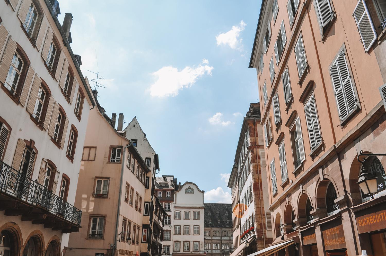 Des façades singulières caractéristiques de l'Alsace