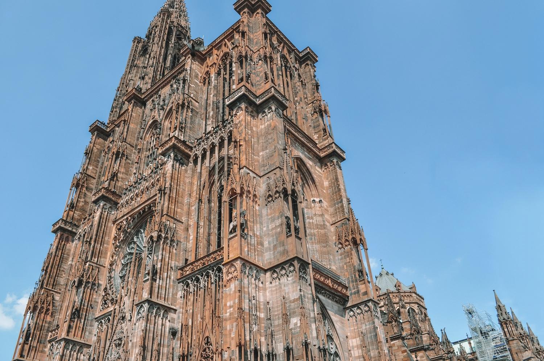 Cathédrale la plus élevée du Grand Est et la 2ème de France après Rouen