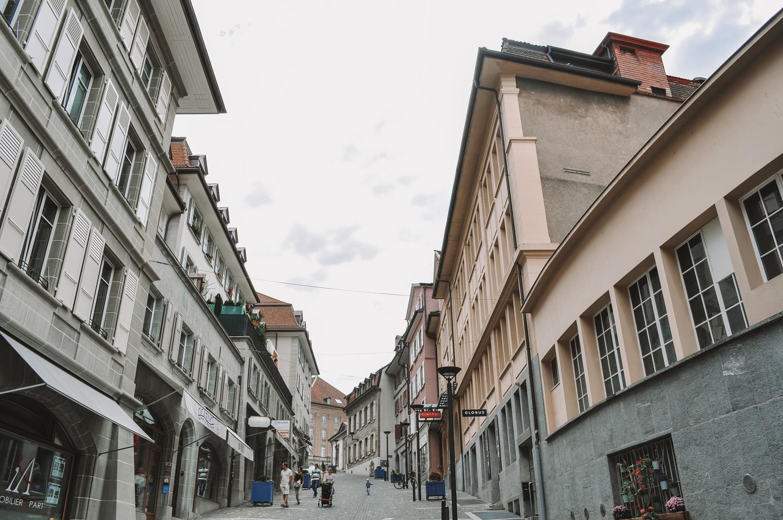 Balade dans les ruelles de Lausanne