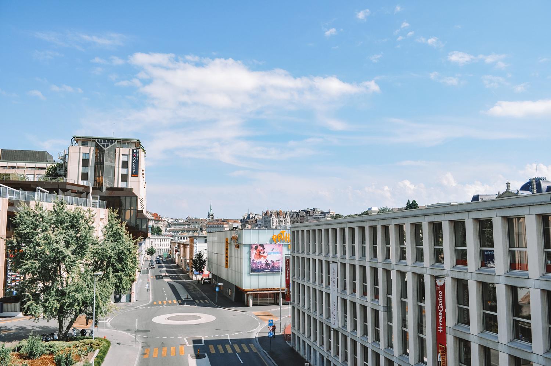 Lausanne a vraiment deux visages entre vieille ville et nouvelle ville