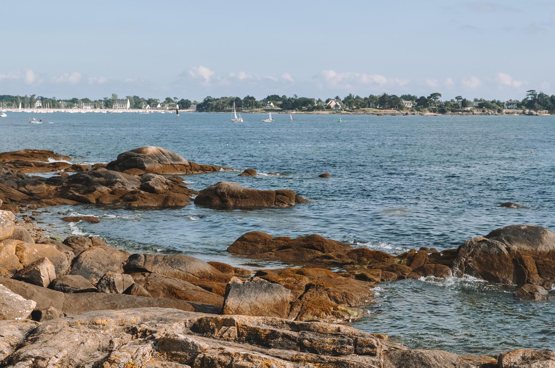 La côte bretonne réserve plein de jolis paysages