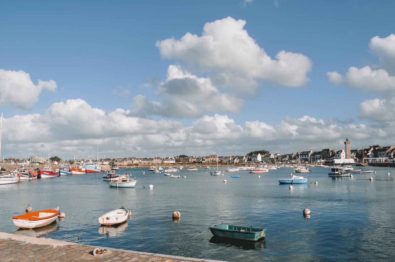 Port de plaisance typiquement breton
