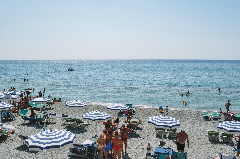 Après-midi détente sur la plage de Loano