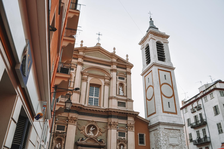 La Cathédrale Sainte-Réparate du Vieux-Nice