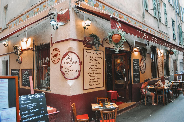 Le Bar des Oiseaux tenu jadis par l'humoriste Noëlle Perna